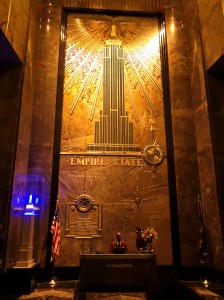 Hall Empire state building
