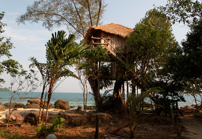 Tree house koh rong island