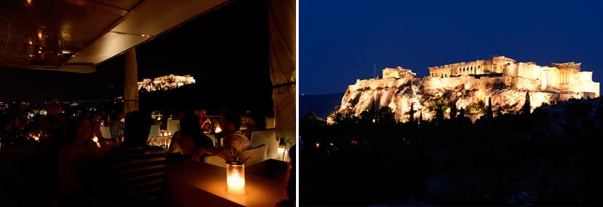 restaurant acropolis view
