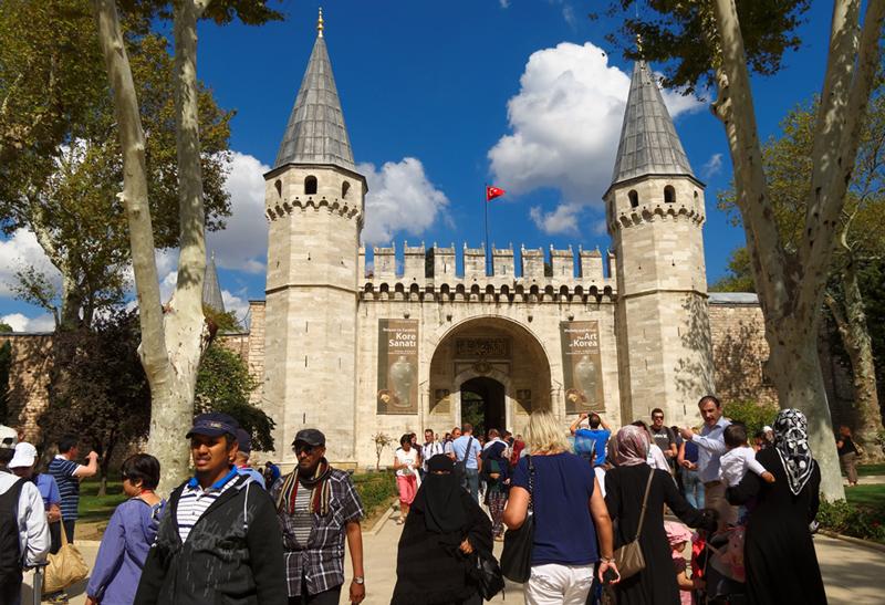 Le Serail Topkapi à Istanbul