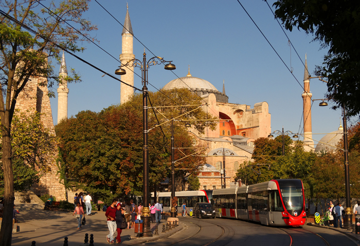 Tramway d'Istanbul
