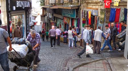 Ruelle Bazar Egyptien