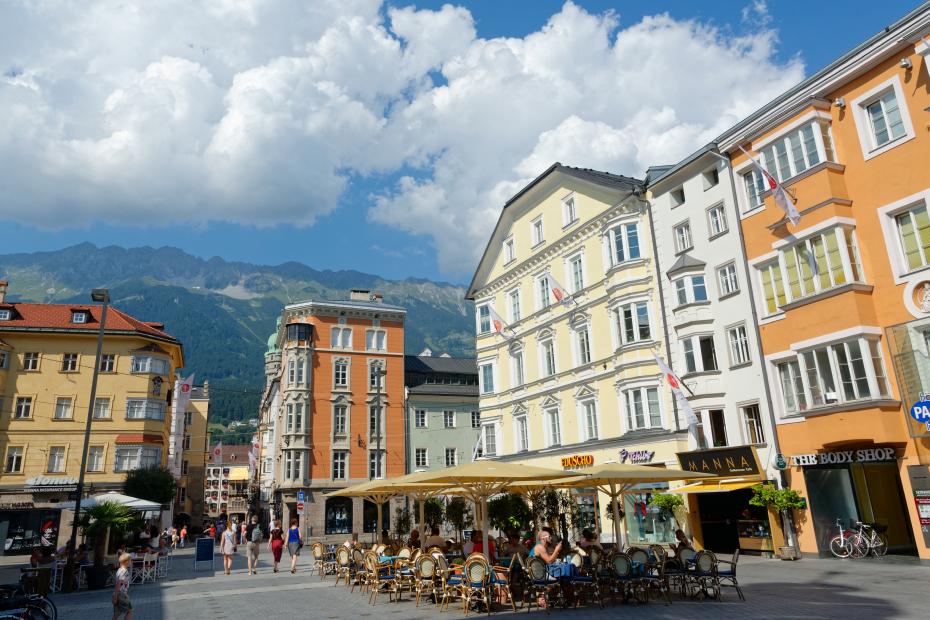 Place d'Innsbruck en Autriche