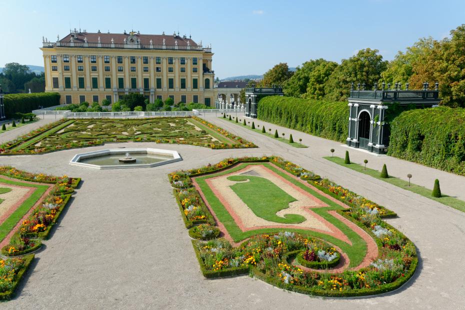 Schonbrunn Jardin du prince héritier en autriche