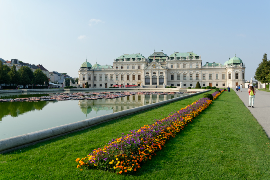 Vienne-Palais-le-belvedere