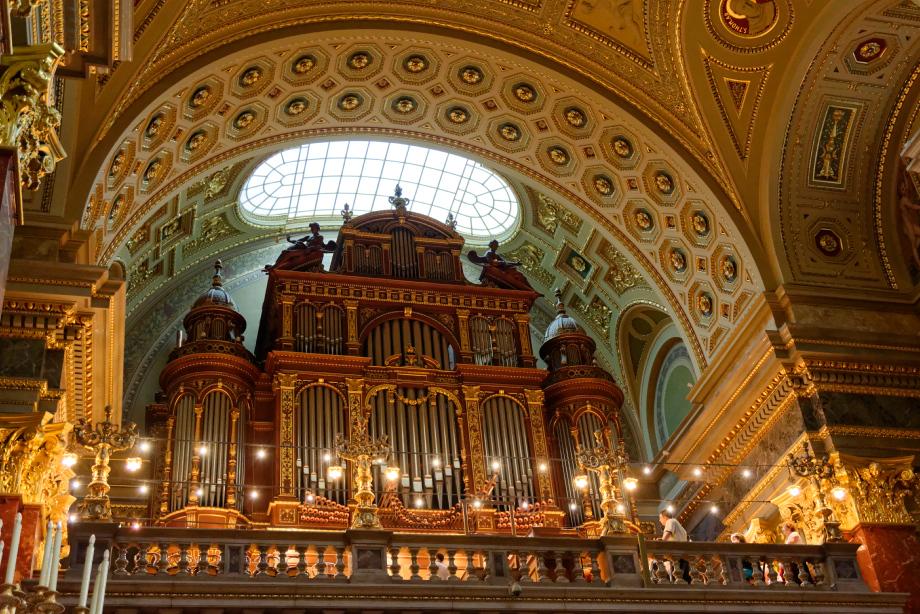 Orgues de la basilique Saint-Etienne à Budapest