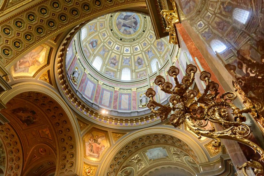 Basilique Saint-Etienne à Budapest