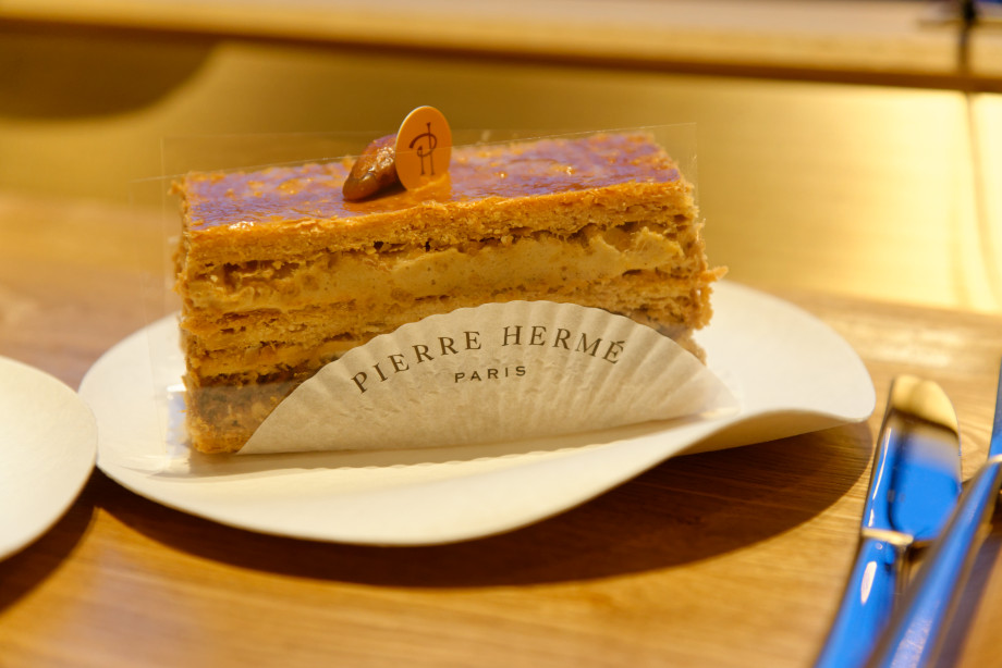 Pâtisserie 2000 feuilles de Pierre Hermé à Tokyo
