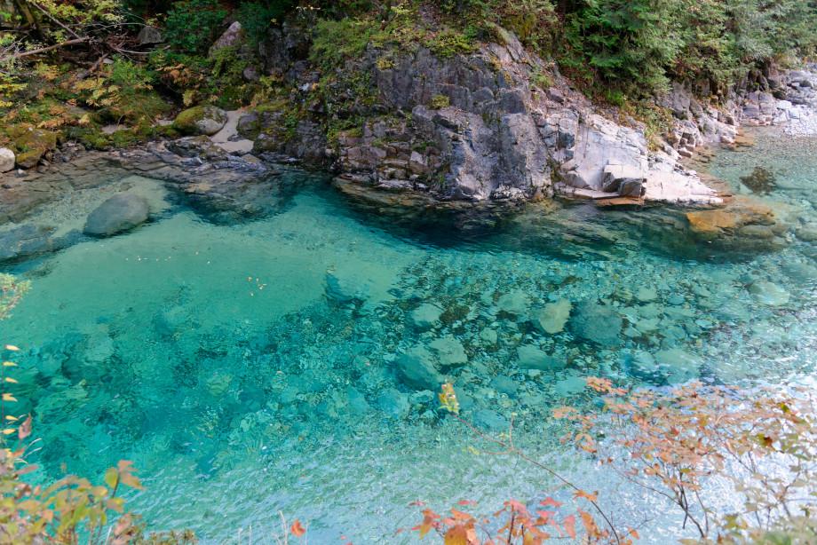 Bain de l'ours gorges de Adera Keikoku