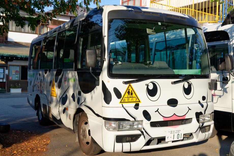 Bus kawai à Tokyo