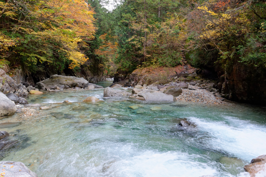 Gorges de Adera Keikoku au Japon