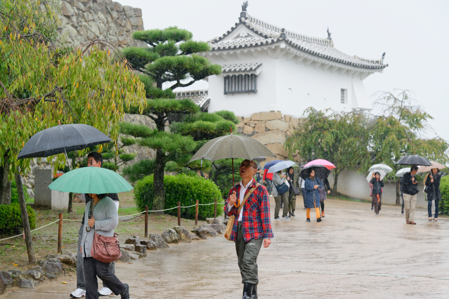 Enceinte du château d'Himeji