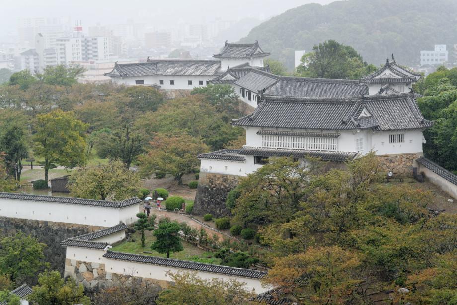 Jardins du château d'Himeji