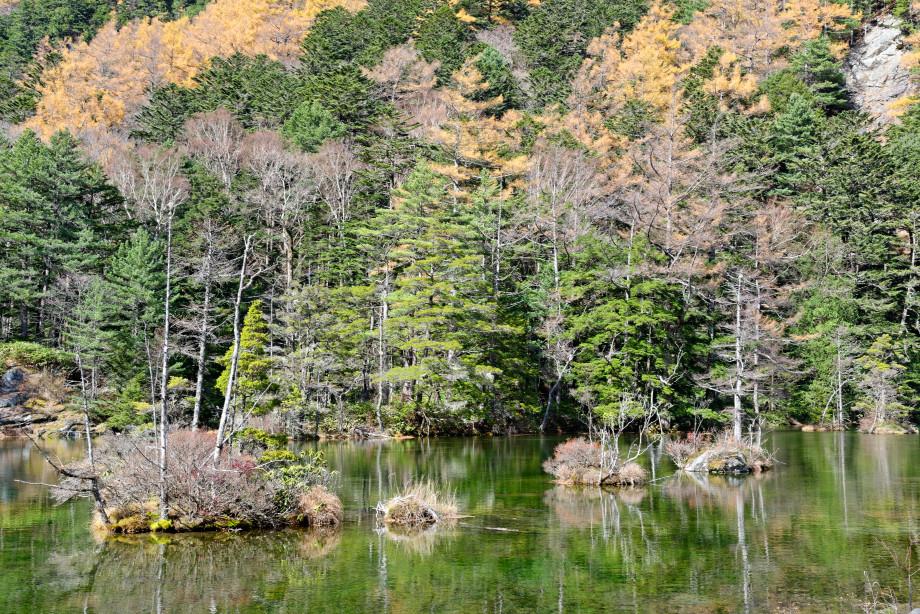 Lac Myojin Pond à Kamikochi