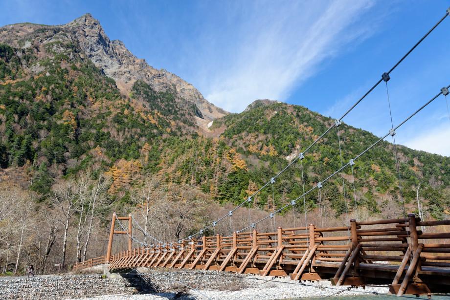 Myojin Bridge à Kamikochi