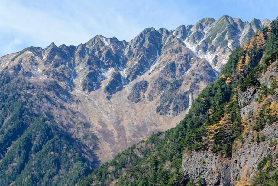 Montagne des alpes japonaises