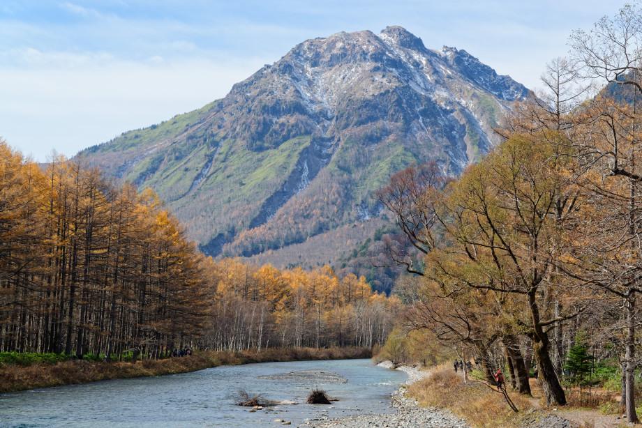 Rivière à Kamikochi