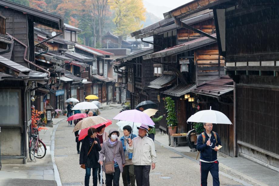 Rue traditionnelle de Narai Juku