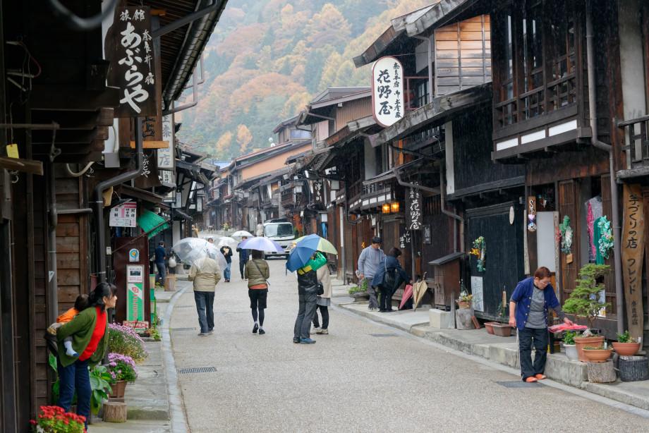 Narai Juku dans la vallée de Kiso
