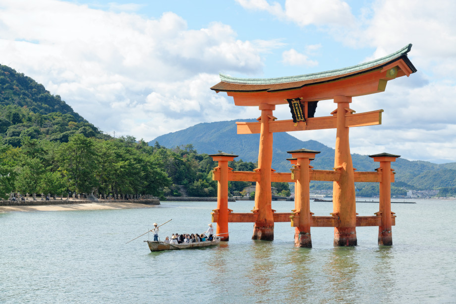 Torii flottant Itsukushima-jinja