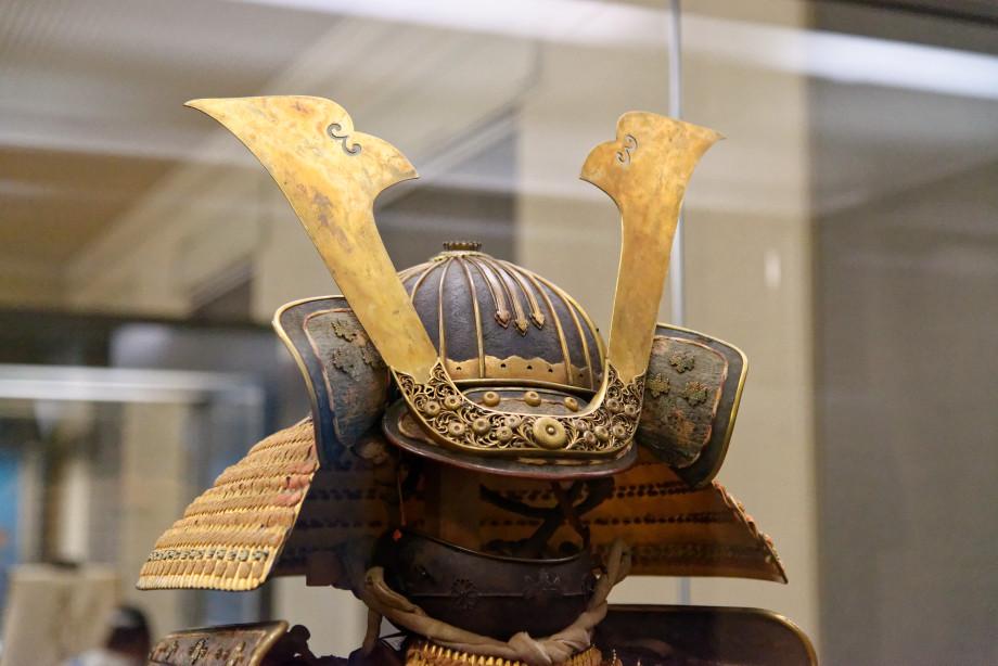 Casque de Samuraï au musée national de tokyo