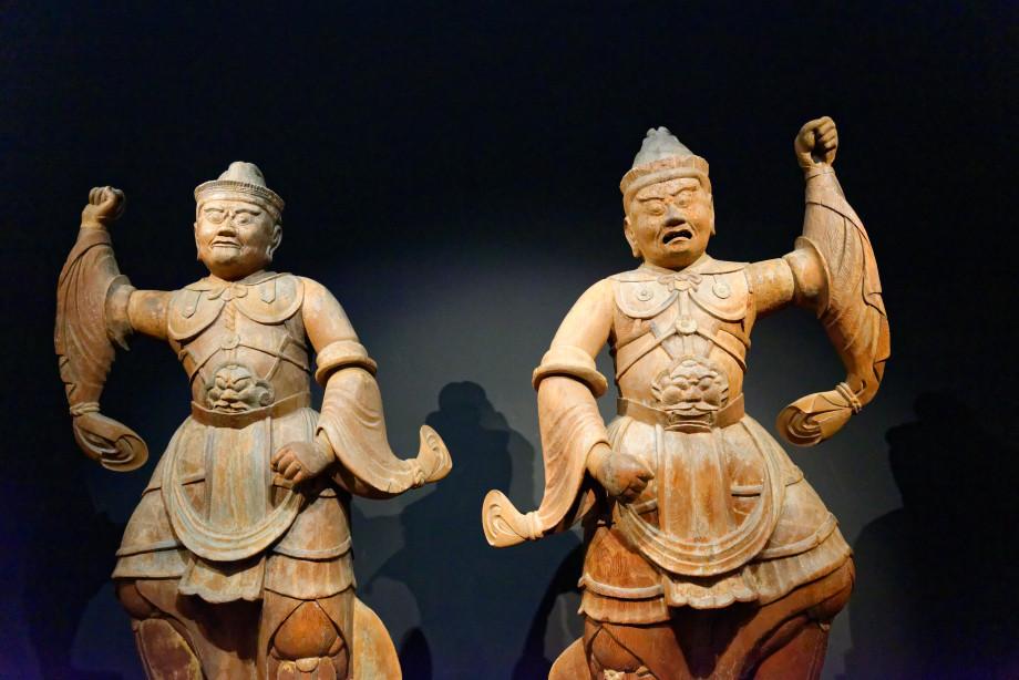 Sculptures au musée national de tokyo