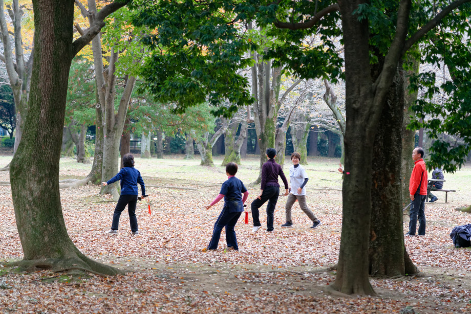 Parc de Yoyogi à Tokyo
