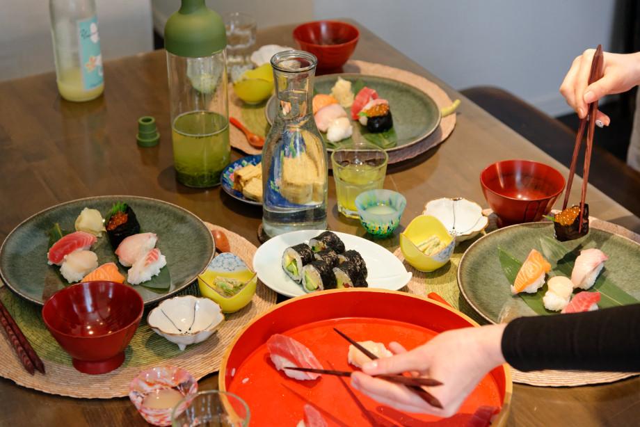 Dégustation de plats japonais à Shimo-Kitazawa