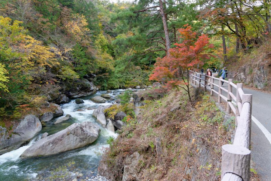 Randonnée dans les Gorges de shosenkyo