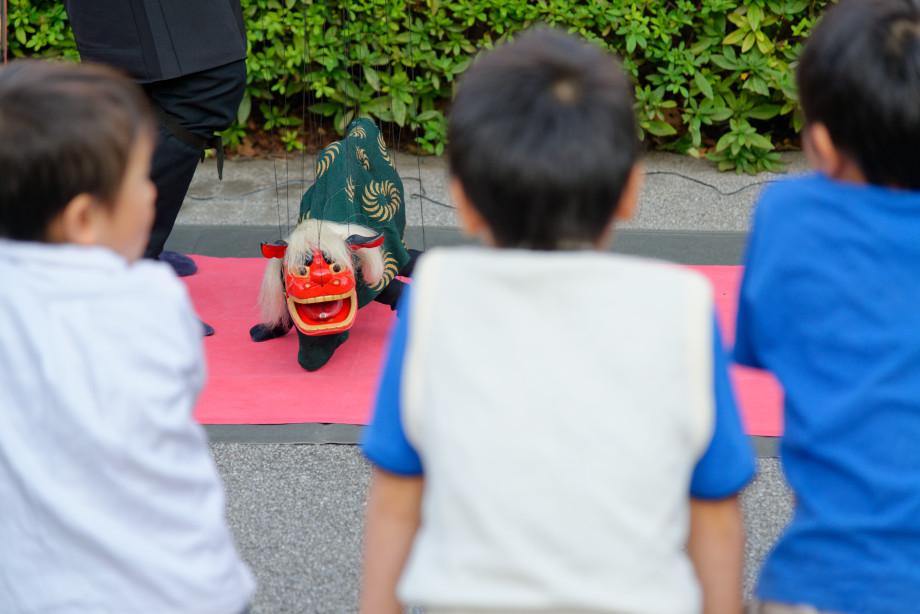 Marionette dragon à Tokyo