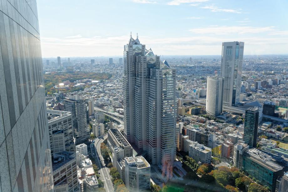 Tokyo vue de la tour du gouvernement